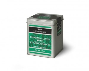 Dilmah Exceptional Peppermint Leaves with Ceylon Cinnamon